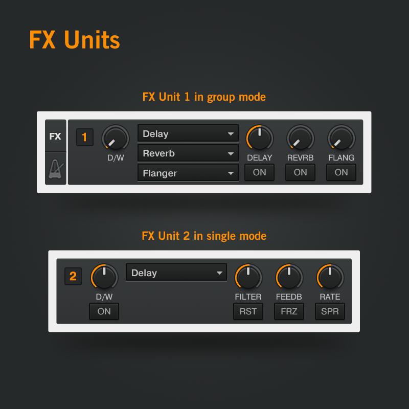 3-Traktor-DJ-FX-Units